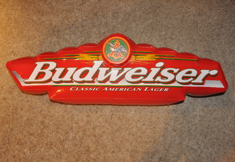 Bud red sign gallery