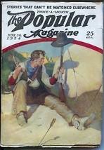 Popular Magazine 6/20/1924-Western cover-Dane Coolidge-pulp stories-VG+ - $65.57