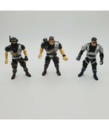 Chap Mei Special Ops Hero AF5 Soldier Action Figure Lot Of 3 Figures 3.7... - $8.86