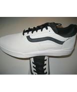 Vans Mens UltraRange Pro Blanc Black Suede Skate shoes Size 13 VN0A3DOSO... - $69.29