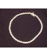 1 Carat Diamond 10K Yellow Gold S Tennis Bracelet - $299.00