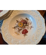Mason's Friarswood 8 3/4-inch Rimmed Soup Plate, 1, Vintage from England - $20.00