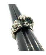 Gem Craft Vintage Sterling Silver 925 Nude Woman & Man Kissing Ring Size... - $178.19
