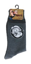 POPEYE Socks sz M/L Medium/Large (6-12) Dark Grey Black - $17.99