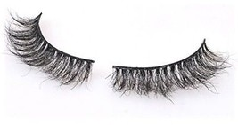 Halo World Natural Horse Hair Eyelashes 3D Crisscross Thick False Eye L... - $19.85