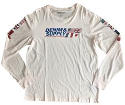Denim & Supply Ralph Lauren Cotton Jersey  INTERNATIONAL RACEWAY  2XL - $25.00