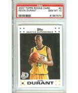 2007 topps rookie kevin durant psa 10 seattle s... - $29.99