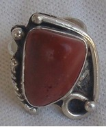 Natural blood stone ring MT806 - $40.00