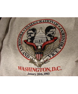 Vintage 1993 Clinton-Gore Inauguration Sweat Shirt Men's XL - $15.99