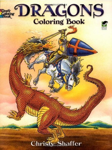 Dragons Coloring Book (Dover Coloring Books) [Paperback] [Mar 22, 2002] Chris...