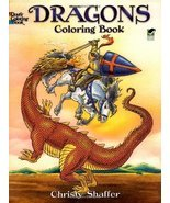 Dragons Coloring Book (Dover Coloring Books) [Paperback] [Mar 22, 2002] ... - $4.32