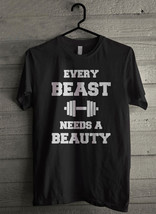 Every Beauty Needs a Beast Men's T-Shirt - Custom (263) - $19.12+