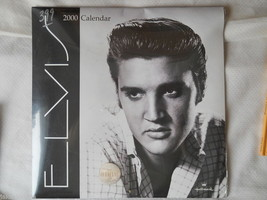 ELVIS Presley 2000 calendar Hallmark E.P.E. Official Product 12 Large Images NEW - $14.95