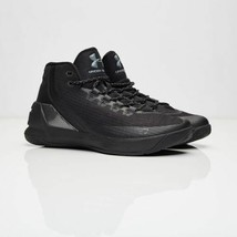 Under Armour UA Curry 3 Black/Black lebron giannis davis kobe 1269279-00... - $149.00