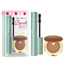 Too Faced Beach bag must have Waterproof Mascara- Bronzer set Authentic! - $24.74