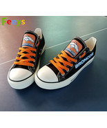 Denver Broncos shoe Denver Broncos sneakers Fashion Christmas gift birth... - $59.99