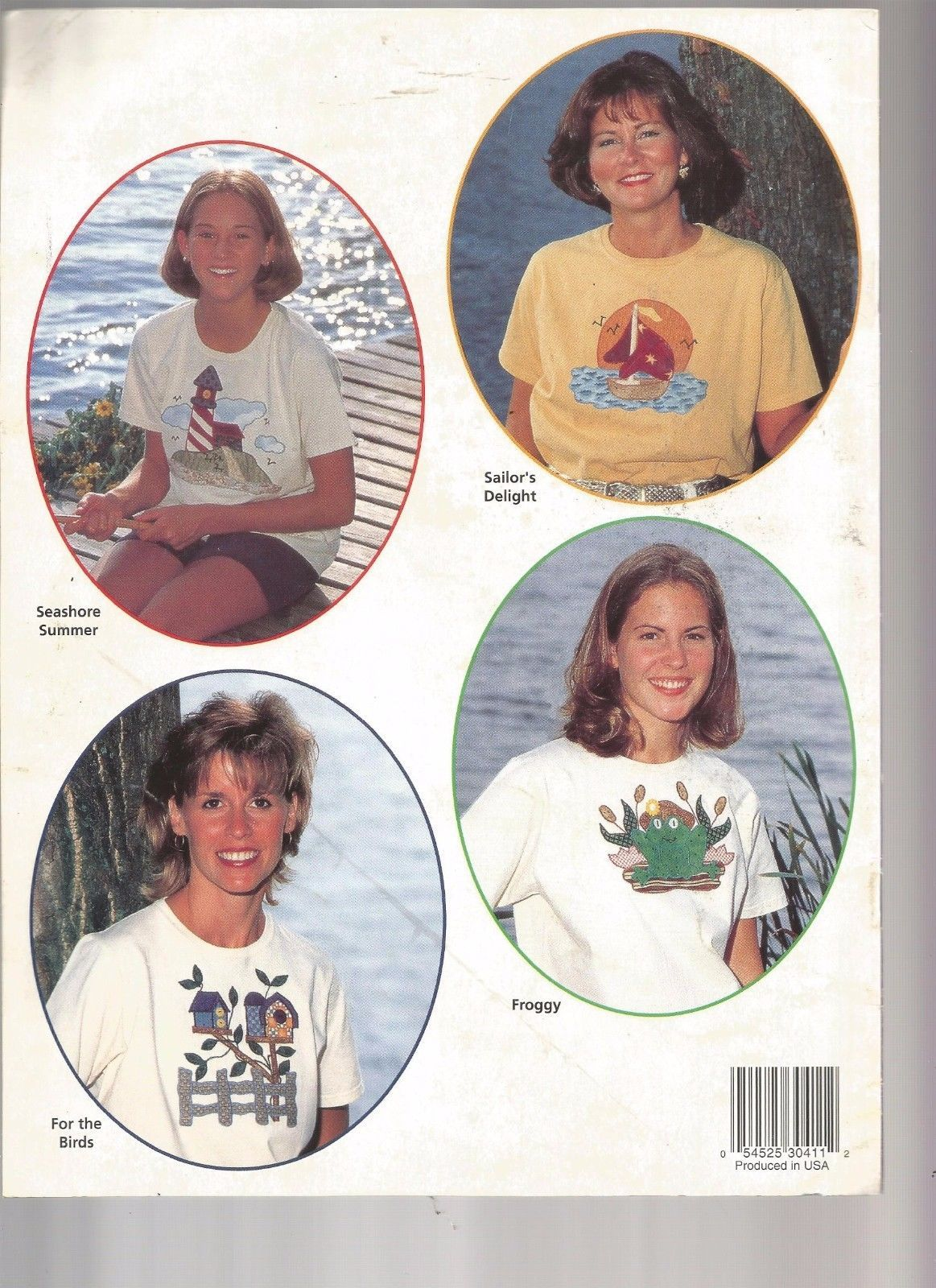 Quick T-shirts for Quilters 5 APPLIQUE PATTERNS BOOK