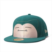 New Era Pokemon collaboration cap 59FIFTY Kabigon Midnight Green - $102.99