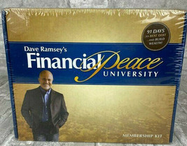 NEW Dave Ramsey's Financial Peace Workplace Edition 2010 Box DVD Members... - $19.79