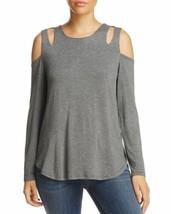 Alison Andrews Cold-Shoulder Top (Dark Gray, M) - $55.34