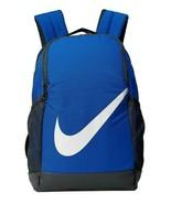 Nike Kids Brasilia School Backpack, BA6029 480 Game Royal/Black/White  - $39.95