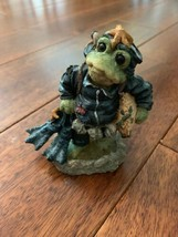 1998 Boyds Bears & Friends Folkstone Style #36751 Bridges...Scuba Frog N... - $17.42