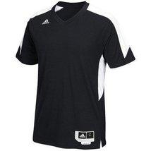 Adidas Commander 15 Shooter Mens Basketball Shirt M Black-White - $40.88