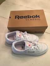 New Women's Club C 85 Classic in colors White / Light Grey / Gum Size 10 - $52.50