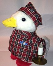 Aflac 2007 Christmas Talking Duck 10`` NWT ^G#fbhre-h4 8rdsf-tg1338017 - $32.33