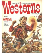 FAVORITE WESTERNS OF FILMLAND 2, August 1960 - JOHN WAYNE, GUNFIGHT AT O... - $112.50