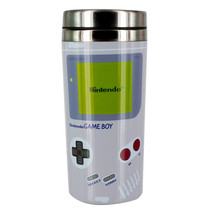 Nintendo Game Boy Design Image Logo 15 oz Stainless Steel Travel Mug NEW... - $15.47