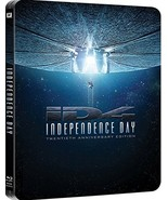 Independence Day 20th Anniversary Edition Steelbook [Blu-ray]  - $12.95