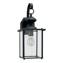 Sea Gull Lighting 8458-12 Jamestowne One-Light Outdoor Wall Lantern with... - $90.71