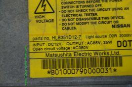 Infiniti QX4 Q45 i35 i30 HID XENON Headlight Ballast HLB351D12-7 image 3