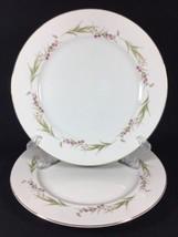 Prestige Dinner Plate Purple Floral Lace Fine China of Japan Porcelain 2... - $29.91