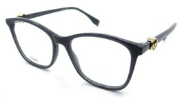 Fendi Rx Eyeglasses Frames FF 0300 KB7 53-17-145 Grey Made in Italy - $147.00