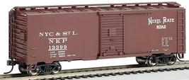 HO Scale - Nickel Plate Road #13163 - Steam Era 40' Box Car - BAC-15012 - $33.00