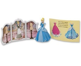 DecoPac Disney Princess Cinderella Transforms DecoSet Cake Topper - $9.85