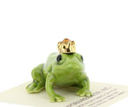 Birthstone Frog Prince November Simulated Citrine Miniatures by Hagen-Renaker image 6