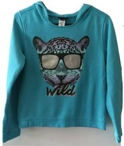Joe Boxer Girls Wild Cat Sweatshirt Size XL/EG 14-16 - $16.83