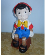 Disney Pinocchio Ceramic Figurine 10 Inches Tall - $39.99