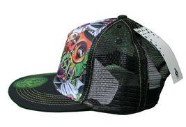 Dunkelvolk Graff World Peruvian Contemporary Art Snapback Baseball Trucker Hat image 3
