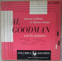 Al Goodman And His Orchestra – Strauss Waltzes In Dance Tempo, Vinyl, L... - $3.95