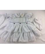 Vtg Dress 18 Months Ruffle Lace Comfy LIL ANGEL Kiddie Korner - $28.04