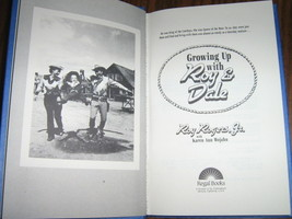 Growing Up With Roy & Dale by Roy Rogers, Jr., - Also 1959 Newspaper Article image 3