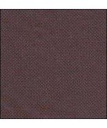 32ct Dark Chocolate Lugana 36x27 1/2yd cross stitch fabric Zweigart - $24.30
