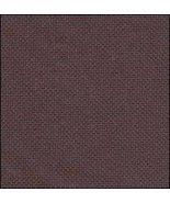 32ct Dark Chocolate Lugana 36x27 1/2yd cross stitch fabric Zweigart - $24.30