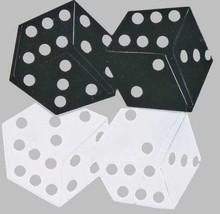 Confetti Dice Black. White Mix - As low as $1.81 per 1/2 oz. FREE SHIP - $3.95+