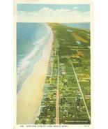 Airplane view of Long Beach, Wash, unused Postcard  - $4.99
