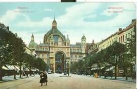 Belgium Anvers Avenue de Keyser CPA 1914 used Postcard  - $5.99